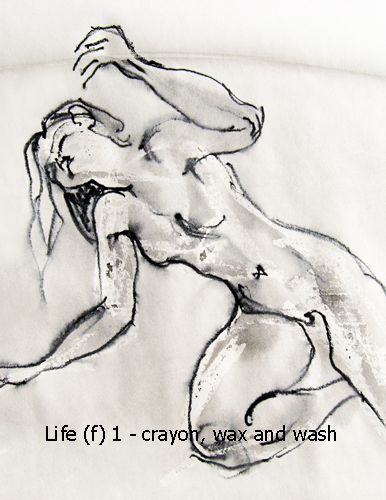 Life drawing (female) 1